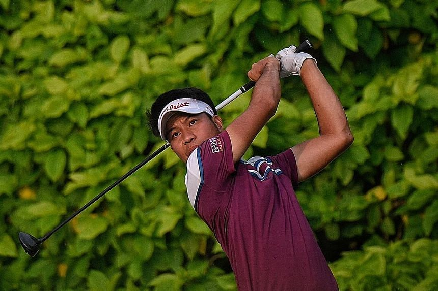 Thai Danthai Boonma's sole Asian Tour win was in Singapore at the 2015 World Classic Championship at Laguna National Golf and Country Club.