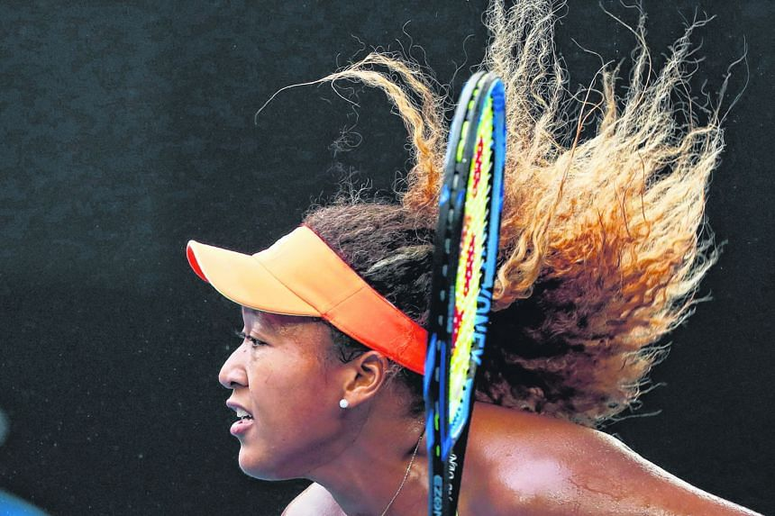 Clockwise, from right: Japan's world No. 72 Naomi Osaka, 88th-ranked Hsieh Su-wei of Taiwan and South Korea's Chung Hyeon, the reigning Next Generation Finals champion, are in with a shout to make the quarter-finals of the Australian Open tomorrow.
