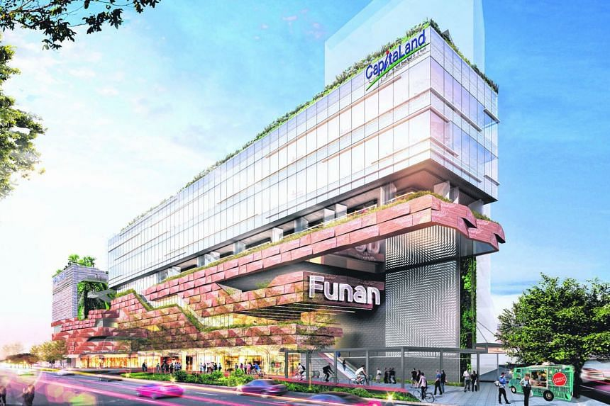Many shopping malls, such as Funan, are investing significantly in improving their tenant mixes and overall look and feel.