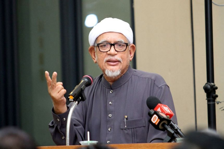 Parti Islam SeMalaysia president Abdul Hadi Awang (pictured) said his party aims to win a simple majority in parliament at the upcoming general election.