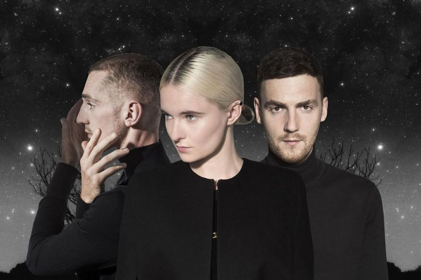 From left: Luke Patterson, Grace Chatto and Jack Patterson of British band Clean Bandit.