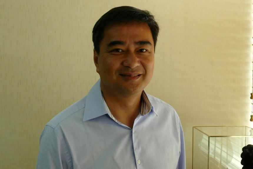 Former Thai Prime Minister Abhisit Vejjajiva (pictured) currently leads the Democrat party, which was the second-largest in parliament before General Prayuth seized power in a 2014 coup.