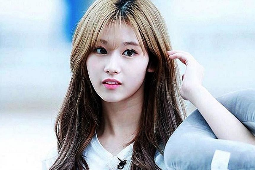 Sana of girl group Twice was reportedly taken to a hospital for inflammation of the small intestine while filming an episode of a variety show last week.