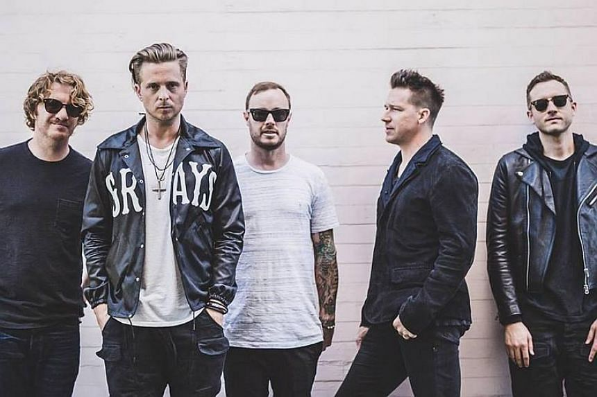 American pop rockers OneRepublic will be back in Singapore to perform at The Star Theatre on Apr 23, 2018.