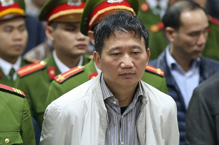 "Trinh Xuan Thanh, the former head of state-run PetroVietnam Construction was sentenced to ""14 years for mismanagement and life in prison for embezzlement""."