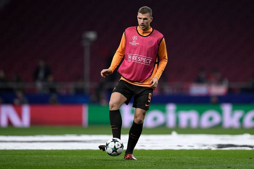 EPL side Chelsea is hoping to pry Edin Dzeko (pictured) and Emerson Palmieri away from Roma for $80.7 million.
