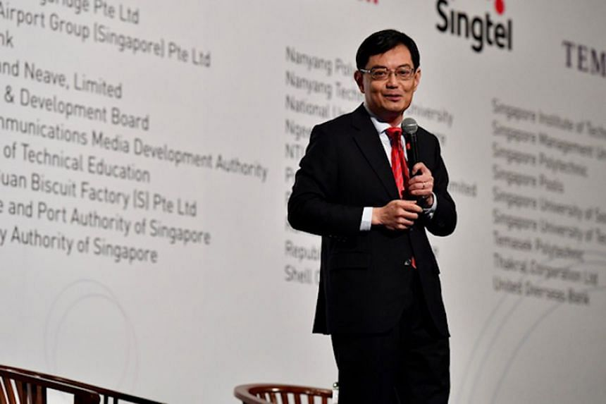 Finance Minister Heng Swee Keat, who is seen as one of the three top contenders for the post of the next prime minister, was asked at the Singapore Perspectives 2018 conference if he was ready to lead the fourth-generation team.