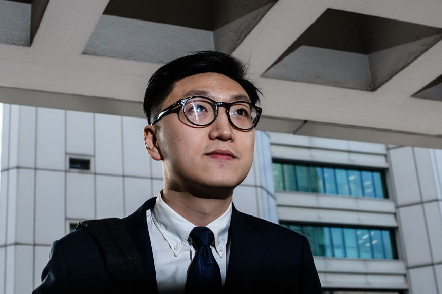 Edward Leung pleaded not guilty to one charge of inciting a riot and two charges of rioting.