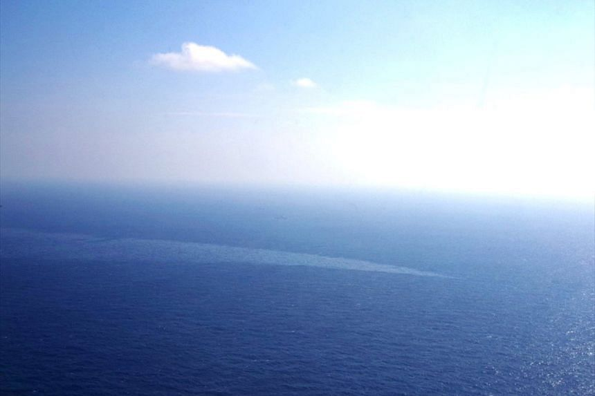 The spill from sunken Iranian tanker Sanchi has spread from a total surface area of 101 square kilometres to 332 square kilometres.