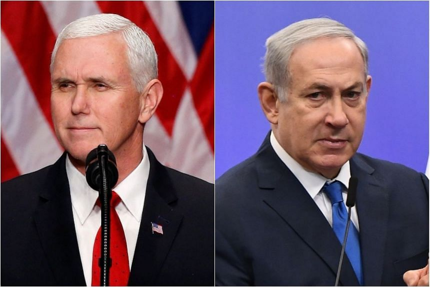 US Vice-President Mike Pence is scheduled to meet Israeli Prime Minister Benjamin Netanyahu, on Jan 22.