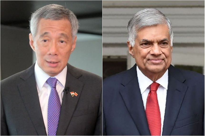 During his visit to Colombo, PM Lee Hsien Loong will be hosted to a dinner by Sri Lankan PM Ranil Wickremesinghe.