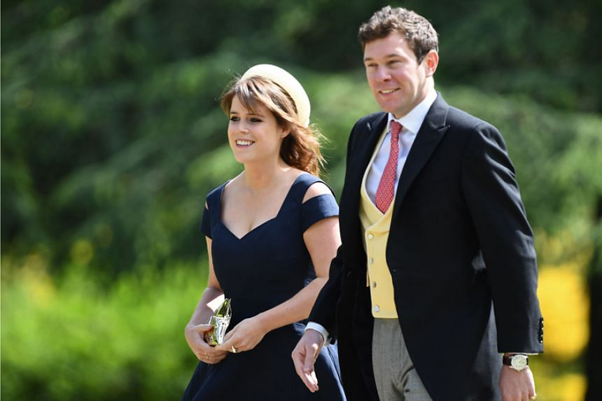 Britain's Princess Eugenie and her long-term boyfriend Jack Brooksbank became engaged in Nicaragua earlier this month.