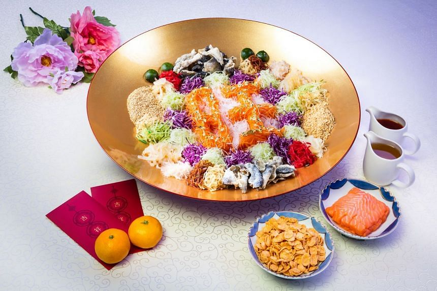 Festive treats and prizes await diners this Chinese New Year at RWS. PHOTO: RESORTS WORLD SENTOSA
