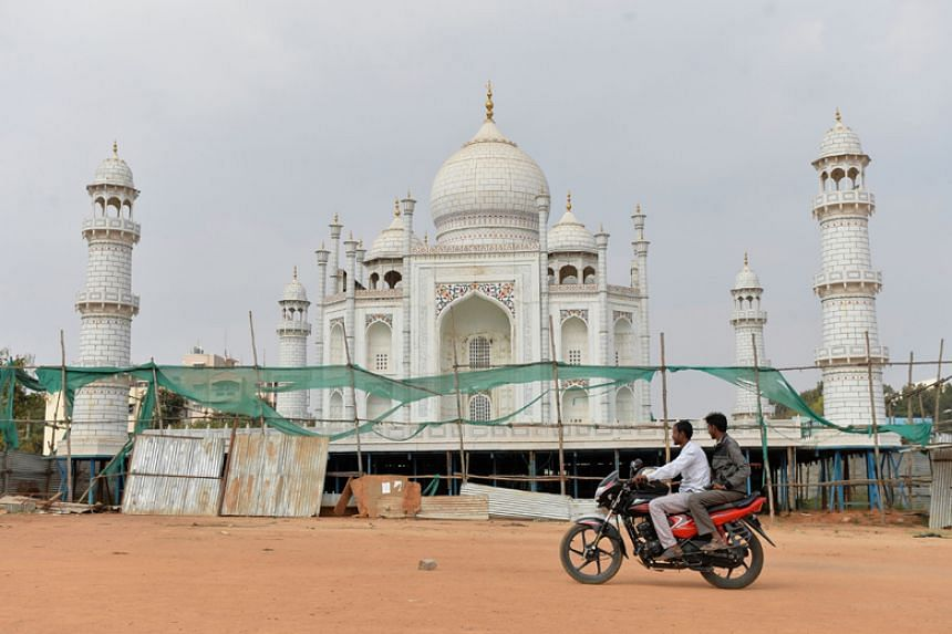 Building restoration at the Taj Mahal is now into its fourth year, with work yet to even begin on its imposing dome.
