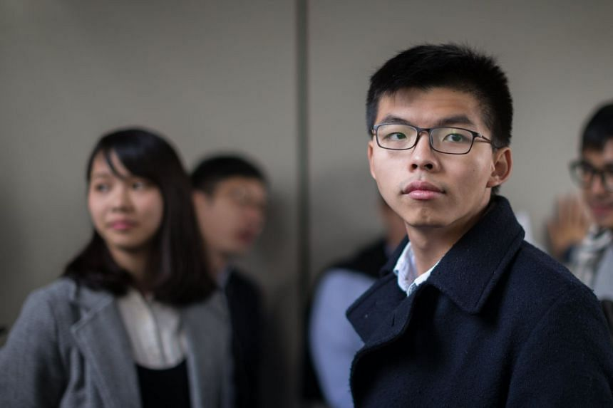 Hong Kong activist Joshua Wong, who was jailed on Jan 17, was released on bail on Jan 23, 2017.