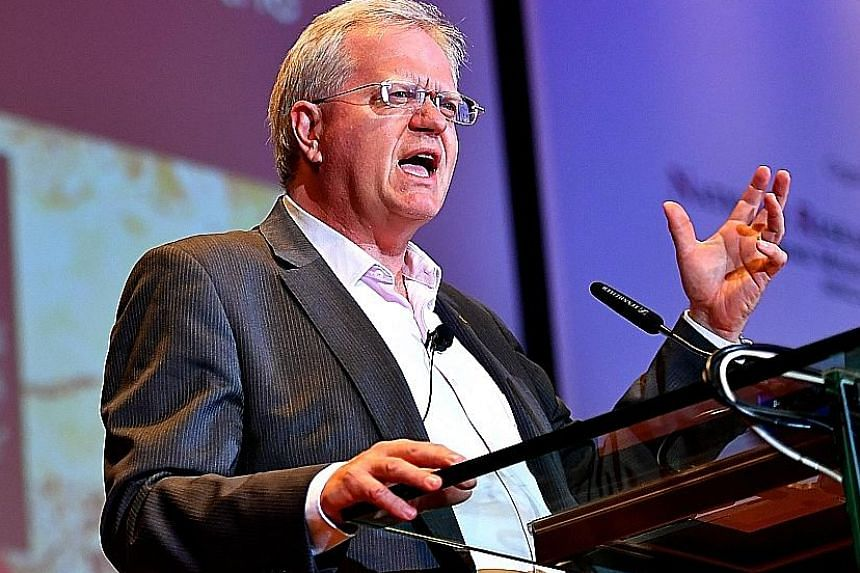 Professor Brian Schmidt won the 2011 Nobel Prize in physics, together with two other astronomers, for discovering that the universe is expanding at an accelerating rate.