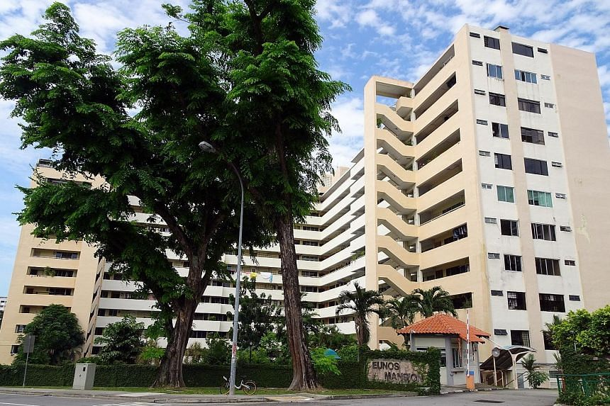 Eunos Mansion , a freehold residential site bound by Jalan Eunos and Bedok Reservoir Road, has been put up for collective sale with a reserve price of $218 million.