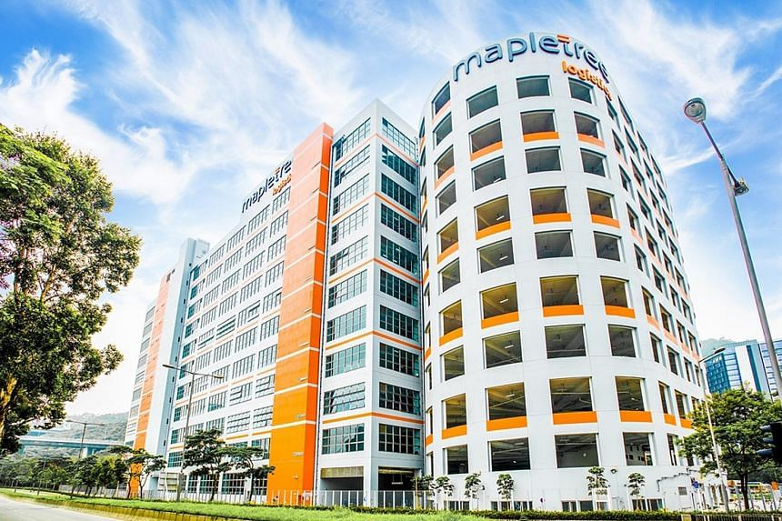 The Mapletree Logistics Hub Tsing Yi in Hong Kong. Portfolio occupancy improved from 95.8 per cent in the previous quarter to 96.2 per cent due to higher occupancies in Hong Kong, South Korea and Malaysia.