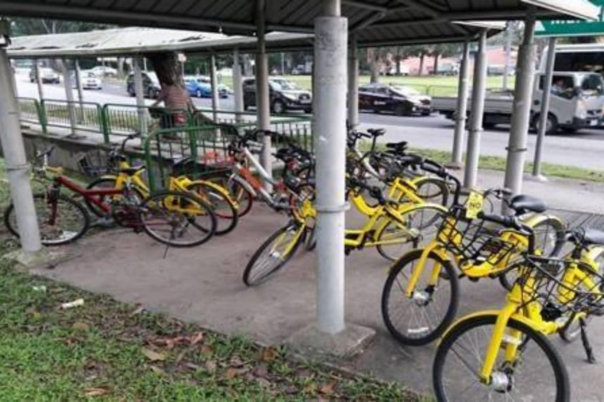 LTA impounded 62 indiscriminately parked bicycles during the operation, which was carried out between Jan 15 and 21.