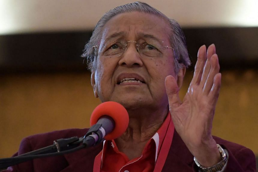 """Former Malaysian PM Mahathir Mohamad urged voters to vote properly in the upcoming polls, saying that those who chose not to vote were being """"shallow-minded""""."""