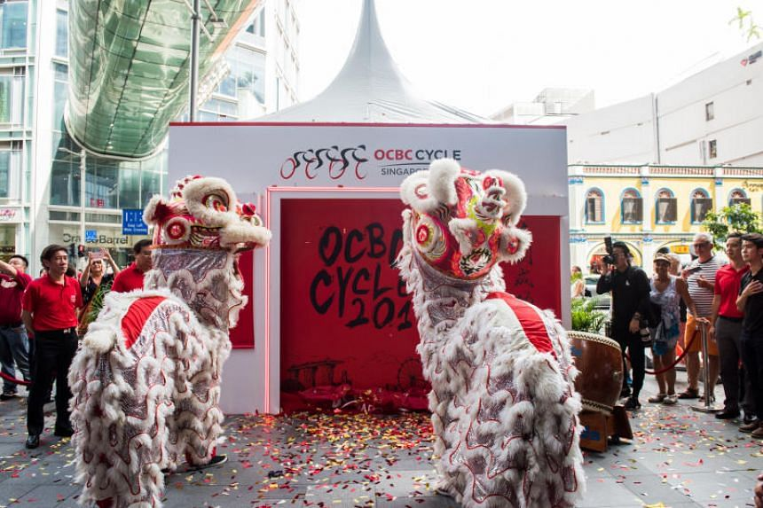 Registration for OCBC Cycle 2018 officially opened on Jan 22 at Orchard Gateway.
