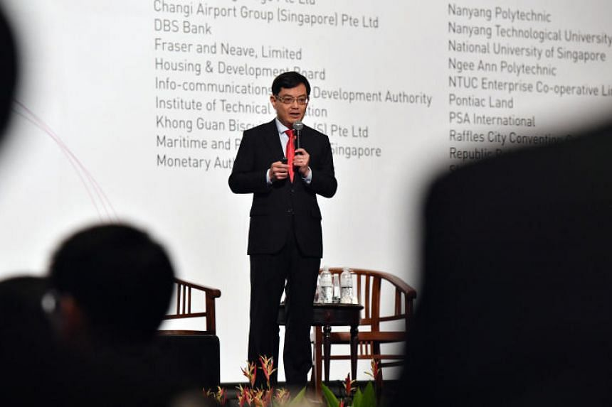 """Finance Minister Heng Swee Keat also hinted that measures to better support seniors will be a focus at the upcoming Budget on Feb 19, saying: """"Please be patient, wait for the Budget, and we will talk about this."""""""