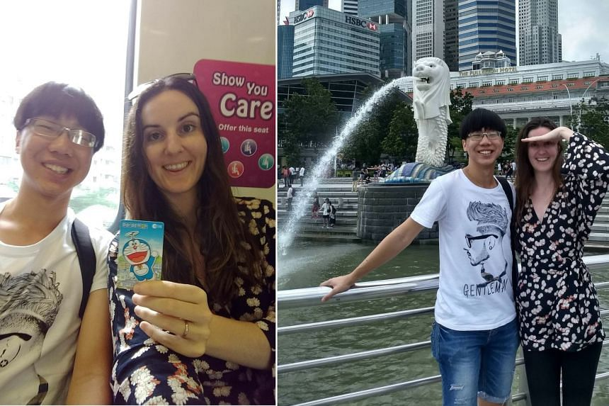 Ms Michelle Christine, a 30-year-old Canadian woman, will be in Singapore from Jan 17 to 24, 2018.
