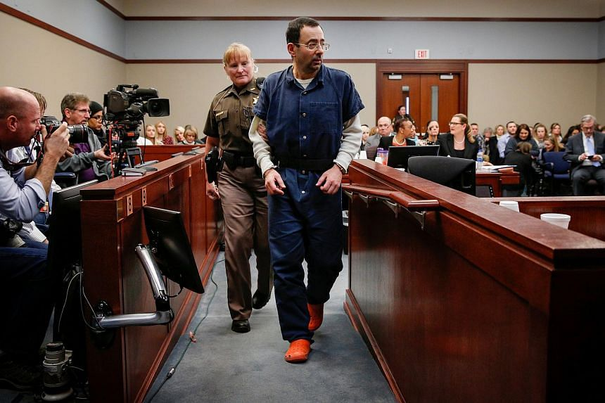 Former team USA Gymnastics doctor Larry Nassar pleaded guilty in November 2017 to sexual assault charges.