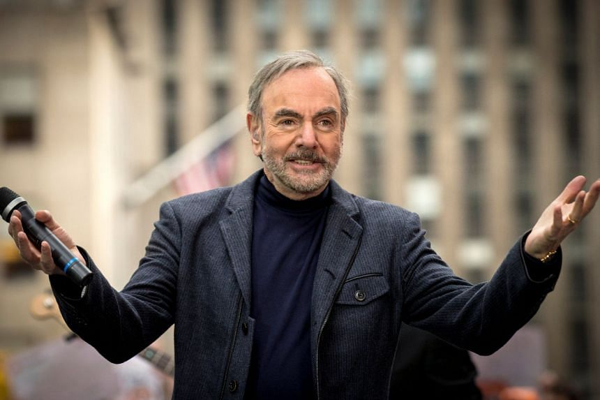 "Neil Diamond said in a statement that he plans to ""remain active in writing, recording and other projects for a long time to come."""