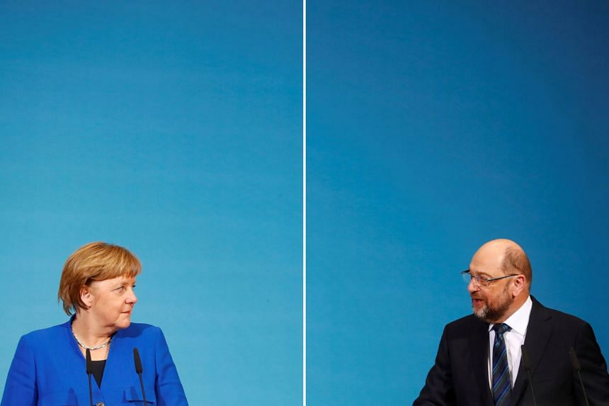 """The SPD was only swayed to support a coalition deal by an impassioned speech from Ms Andrea Nahles, the party's parliamentary leader; she is now widely seen as a future German leader. Dr Angela Merkel wants SPD to agree to a re-run of the """"grand coal"""