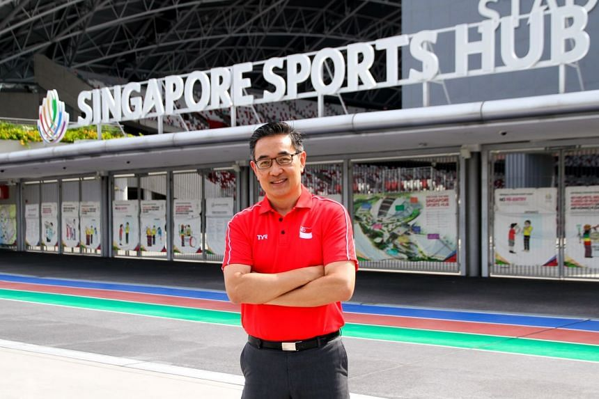 Former national swimmer Oon Jin Teik, who was previously acting CEO, was named the new chief executive of the Singapore Sports Hub on Jan 23, 2018.