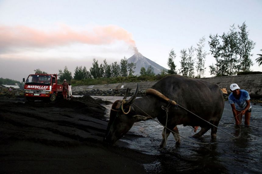 Nearly 40,000 people have been evacuated since the Mayon volcano began spewing ash, lava, and pyroclastic material since Jan 13.