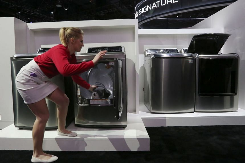 LG is building a washing-machine factory in Tennessee, its first US-based production facility, with completion possible in early 2019.