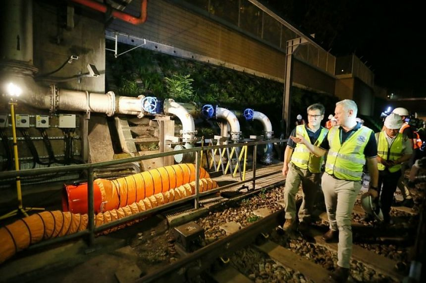 Rail operator SMRT will be introducing flood mitigation measures near the Lavender, Redhill, Kembangan and Expo stations on the East-West Line by April.