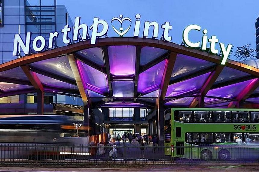 The integration of the North Wing with the South Wing at Northpoint City has been completed. Revenue from the North Wing jumped 39.5 per cent in the quarter from a year earlier to $12.93 million.