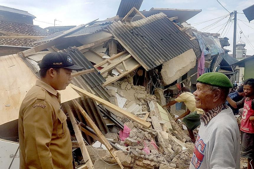 In Banten and West Java provinces, 479 houses were damaged, but there are no reports of fatalities so far, says the BNPB, Indonesia's national agency for disaster management.
