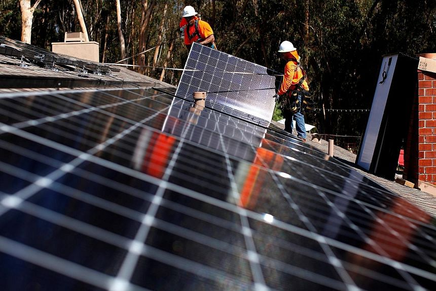 """The new US tariffs on imported solar panels and washing machines deal a blow to South Korea's Samsung Electronics and LG Electronics. Both imported products were """"a substantial cause of serious injury to domestic manufacturers"""", said the US Internati"""