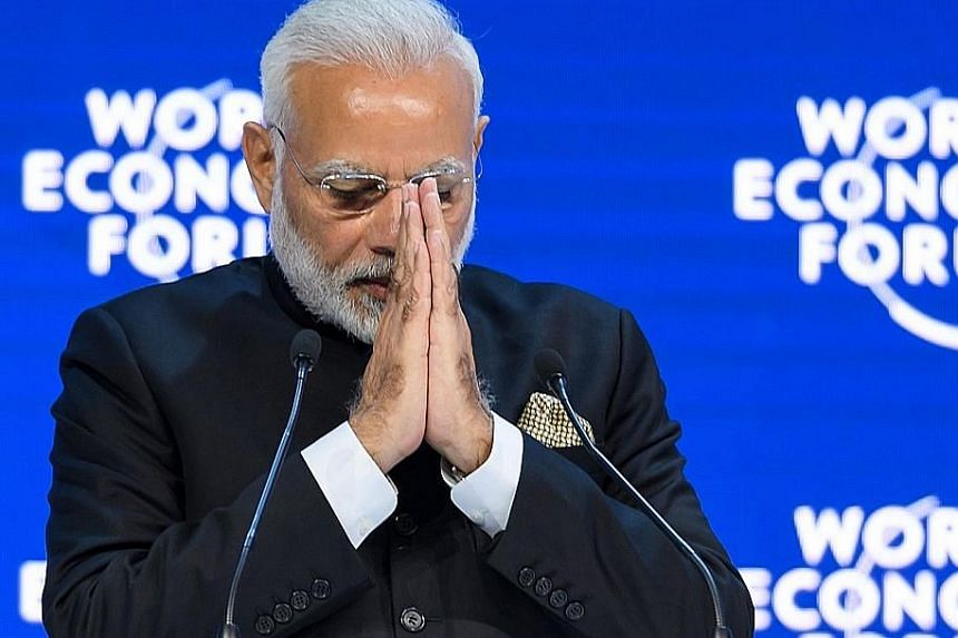 Indian Prime Minister Narendra Modi delivered an hour-long opening address at the World Economic Forum in Davos yesterday. In his speech, he said his government has made investing and doing business in India much easier today.