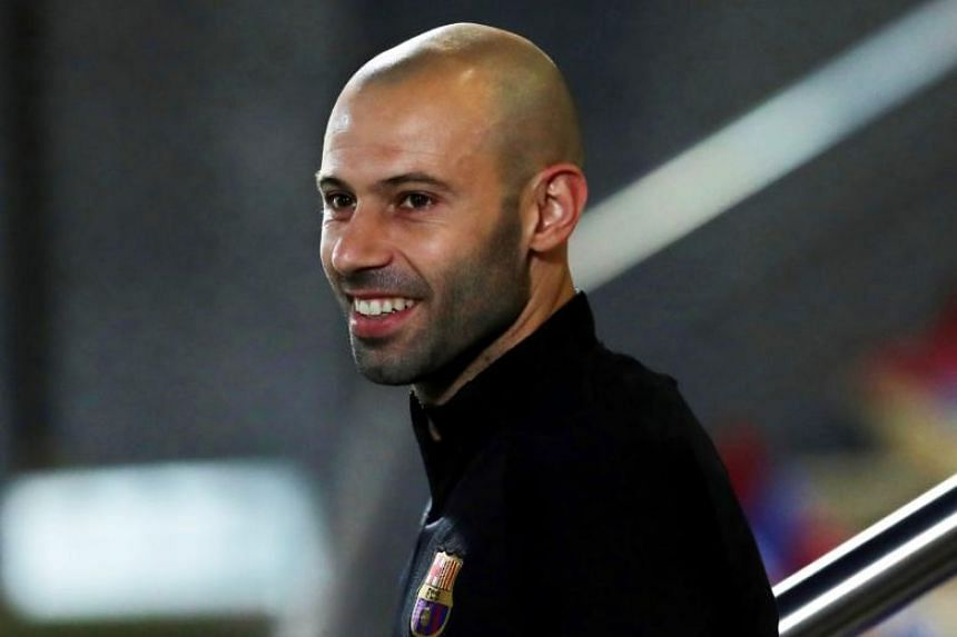Barcelona confirmed that defender Javier Mascherano will leave the club this month, with Spanish media reporting that the Argentinian is heading to Hebei China Fortune.
