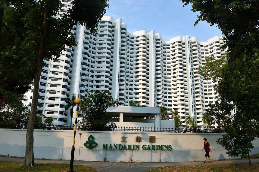 Mandarin Gardens, a 99-year condominium on a one million sq ft plot off East Coast Park.