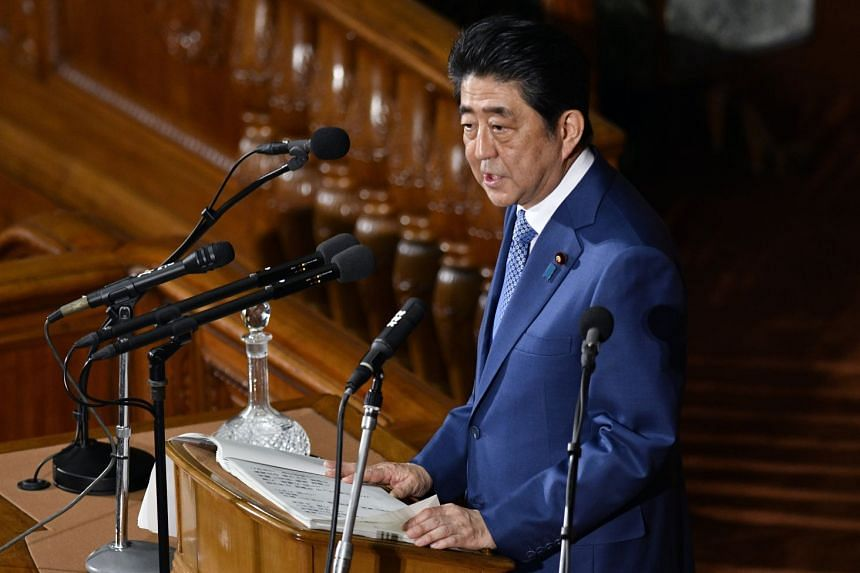 Prime Minister Shinzo Abe plans to visit South Korea in time for the Pyeongchang Olympics next month.