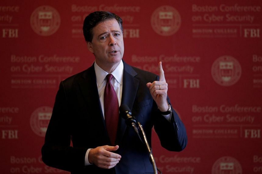 The interview with former FBI Director James Comey focused on a series of memos he wrote about his interactions with US President Donald Trump that unnerved Comey, according to two people briefed on the meeting.