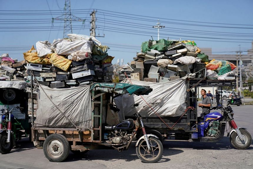 While residents in Guiyu generally welcome the cleaner environment, the ban on foreign waste has been a damaging blow for many recyclers.