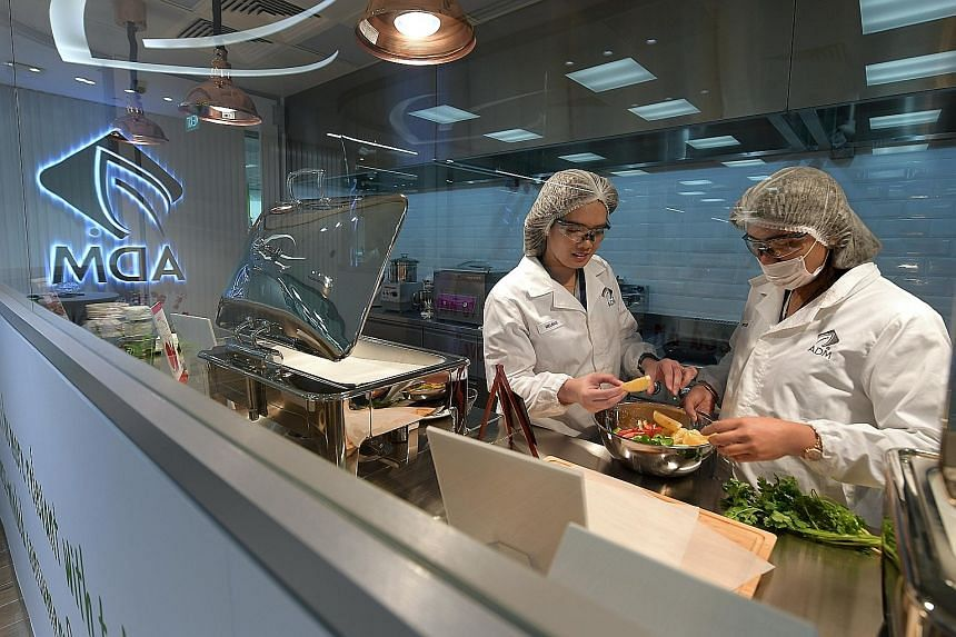 Archer Daniels Midland's Technical and Application Centre includes a range of labs for food and flavour analytics, beverage and dairy applications, bakery and confectionery, meat, savouries and sweet products. There are also sensory evaluation facili