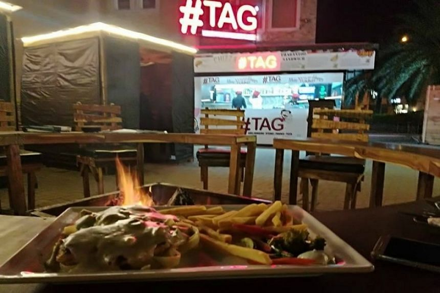 #Tag in Bahria Town is offering ostrich meat for the first time.