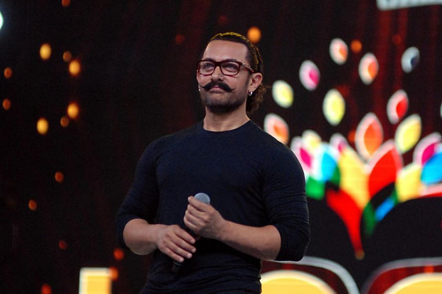 Bollywood superstar Aamir Khan's latest film topped China's box-office charts for the first five days since it opened on Jan 19, raking in around US$39 million (S$51 million).