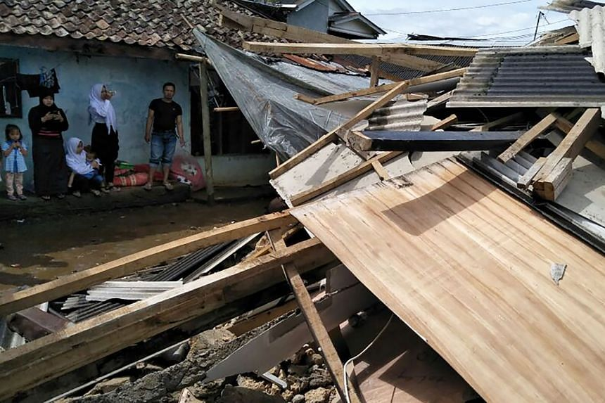 The quake struck off the south of Java, about 140km south-west of Jakarta on Jan 23, 2018.