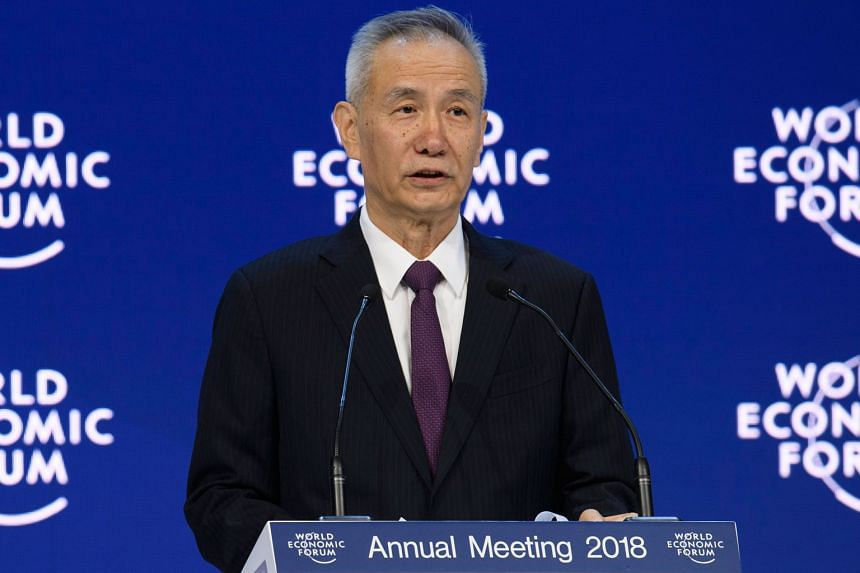 Mr Liu He, head of the General Office of the Central Leading Group for Financial and Economic Affairs, said China will ease restrictions for foreign firms in its financial, manufacturing and services sectors.