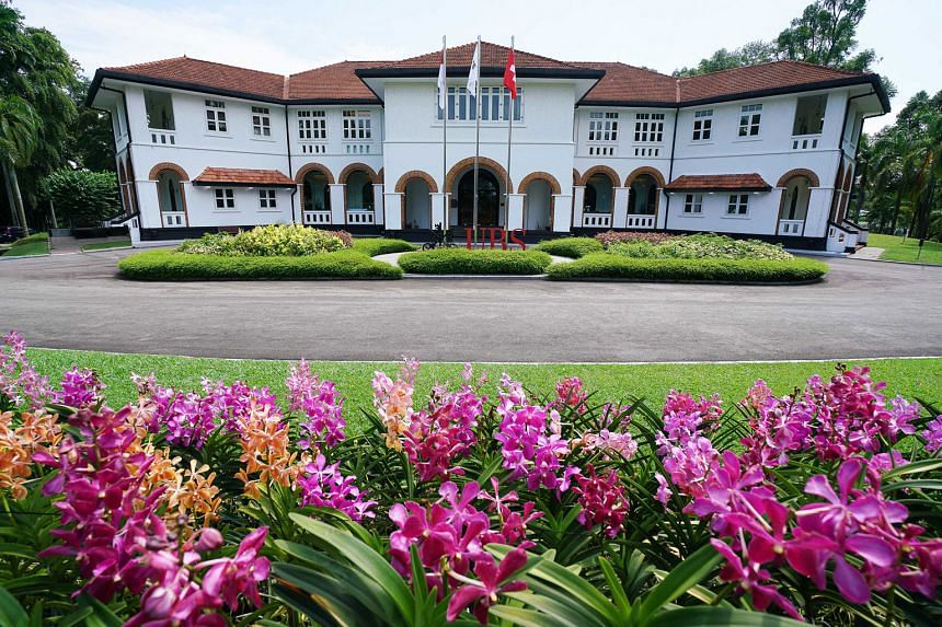 UBS University, which has occupied the Former Command House monument at 17, Kheam Hock Road, since 2007. The school relied on old copies of approved works for pointers before planning maintenance works. Among the building's antique fixtures are its