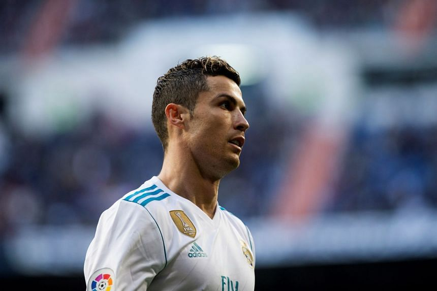 Ronaldo (above) has been linked with a return to Manchester United.